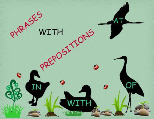 Устойчивые выражения с предлогами в английском языке
