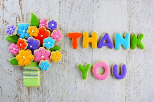 Как поблагодарить на английском?