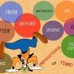 Предложения с предлогами в английском языке